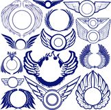 Wing Ring Collection Stock Photo