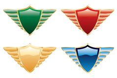 Wing shield one Stock Photography