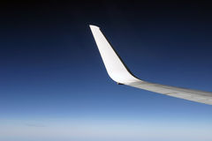 Wing on sky Royalty Free Stock Images