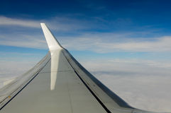Wing in the sky Stock Photos