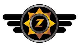 Wing Star Letter Z illustration de vecteur
