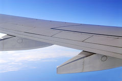 wing statku powietrznego obrazy royalty free