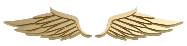 Wing symbol Stock Image