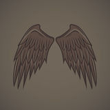 Wing Vector Image stock