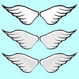 Wing Vector Cartoon Fotografía de archivo libre de regalías