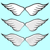 Wing Vector Cartoon Royalty Free Stock Photography