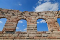 """""""The Wing"""" at Verona Arena, Italy royalty free stock photography"""