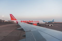 Wing View Stock Image