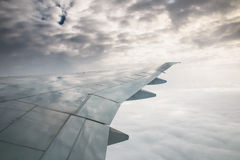 Wing view Stock Photography