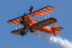 Wing Walker Courage Stock Foto