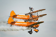 Wing Walkers Royalty Free Stock Images