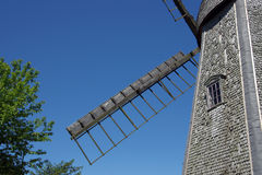 Wing of windmill. Royalty Free Stock Image