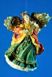 An angel is an important religious symbol, a mediator between the material and spiritual levels. stock images