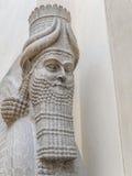 Winged Assyrian Bull, Khorsabad Royalty Free Stock Photos