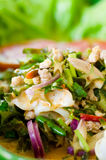 Winged bean in spicy coconut sauce salad Royalty Free Stock Photography