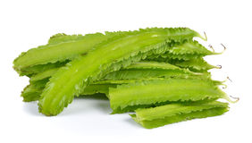 Winged bean on white background Stock Photo