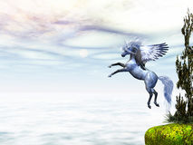 Winged Beauty Stock Images