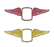 Winged Crest Stock Images