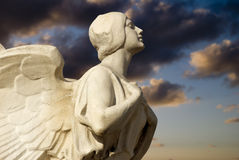 Free Winged Democracy At Sunset Royalty Free Stock Images - 5330849