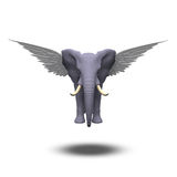 Winged Elephant Stock Photography