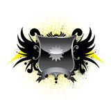 Winged Emblem Stock Photography