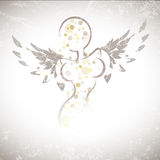 Winged Girl Stock Photography