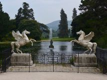Winged Horses Of Powerscourt Estate Royalty Free Stock Image