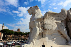 Winged Lion stock images