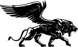 Free Winged Lion , Full Body Royalty Free Stock Photo - 156365925