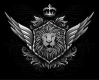Winged Lion Insignia 2 Stock Photo