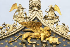 The Winged Lion of St Mark Royalty Free Stock Images