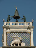 Winged Lion of St. Mark - symbol of Venice Royalty Free Stock Photos