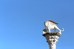 Winged Lion symbol of Venice Royalty Free Stock Photos