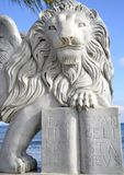 Winged lion of Venice Royalty Free Stock Images