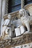 The winged lion in Venice Stock Images