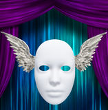 Winged Mask Royalty Free Stock Images