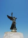 Winged Nike-Statue. Stockfotografie