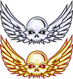 Winged Raider Skulls Royalty Free Stock Photography