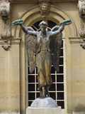 Winged sculpture Royalty Free Stock Images