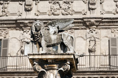 Winged St Mark Lion in Verona - Italy Stock Photography