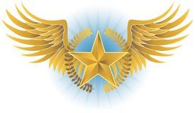 Winged Stern Lizenzfreie Stockbilder