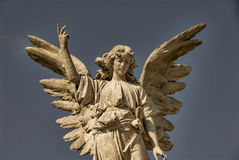 Winged Stone Angel Stock Images