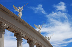 Winged trumpeters, Las Vegas Royalty Free Stock Image