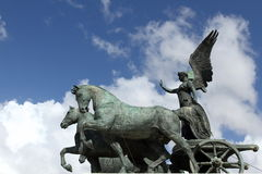 Winged victory royalty free stock photography