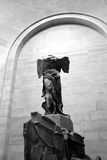Winged Victory. Of Samothrace in the Louvre Paris Stock Photo