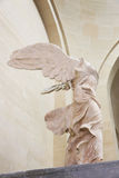Winged Victory. Greek classical statue of 'Nike' from Samothrace or 'Winged Victory Stock Photo