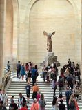 Winged Victory of Samothrace Royalty Free Stock Photo