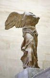 Winged Victory of Samothrace. Or Nike of Samothrace in the Louvre museum, Paris Royalty Free Stock Photography