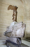 Winged Victory of Samothrace. Or Nike of Samothrace in the Louvre museum, Paris Stock Image
