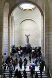 Winged Victory of Samothrace Stock Image